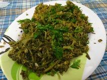 Gekookte Broccoli Royalty-vrije Stock Afbeeldingen