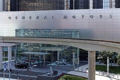 General Motors World Headquarters Stock Photo