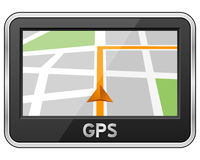 Generic GPS Navigation Device Royalty Free Stock Photography
