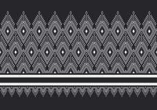 Geometric Ethnic pattern Royalty Free Stock Photos