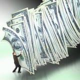 Gestione di soldi Immagini Stock Libere da Diritti