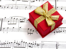 Gift of music Royalty Free Stock Image