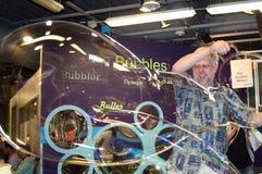 gigantische Blasen am des Denver Childrens Museum Stockfoto