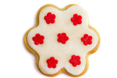 Gingerbread cookies with royal icing Royalty Free Stock Photography