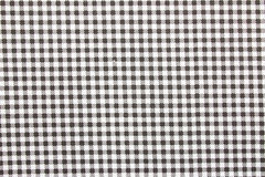 Gingham fabric background Royalty Free Stock Images
