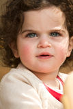 Girl with blue eyes Royalty Free Stock Photography