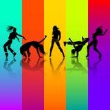 Girl dance Stock Photo