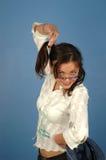 Girl's having fun Stock Image