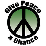 Give Peace a Chance Stock Photos