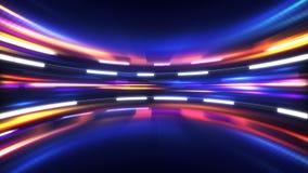 Glänsande tekniskt avancerad abstrakt bakgrund Arkivfoton