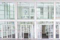Glass Entrance Stock Image