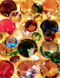Glass gems Stock Photo