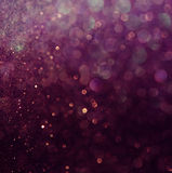 Glitter vintage lights background. white and purple. defocused Royalty Free Stock Image