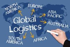 Global business logistics Stock Photos