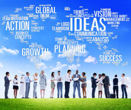 Global Business People Discussion Creativity Ideas Concept Royalty Free Stock Image