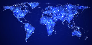 Global communications Royalty Free Stock Images