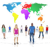Global Communications Society Friendship People Concept Stock Photo