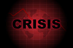 Global crisis Royalty Free Stock Photography