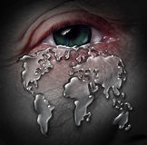 Global Crisis Royalty Free Stock Image