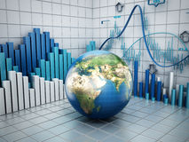 Global finance concept Royalty Free Stock Image