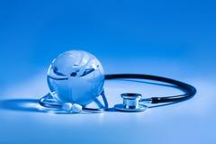 Global healthcare Royalty Free Stock Photos