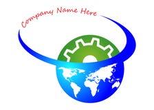 Global industry logo Stock Image