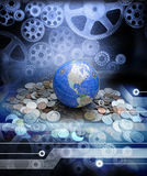 Global Money Business Economy Royalty Free Stock Photography