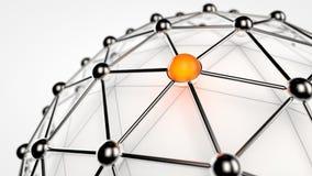 Global Network Stock Image