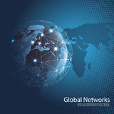 Global Networks Stock Photo