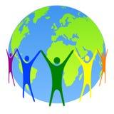 Global people Royalty Free Stock Image