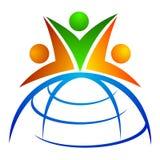 Global team Stock Image