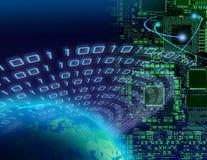 Globales Digitaltechnikkonzept Stockfotos