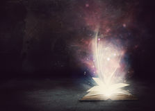 Glowing Book Royalty Free Stock Photo