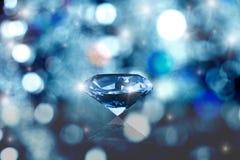 Glowing diamond Royalty Free Stock Photography