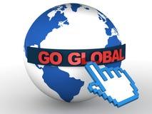 Go global Royalty Free Stock Photos