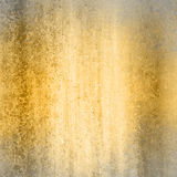 Gold background with gray frame Stock Photography