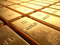 Gold Bars Stock Photos
