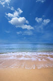 Gold beach Stock Photo