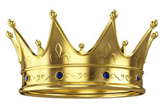 Gold crown Stock Photos