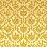 Gold damask Stock Photo