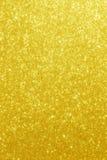 Gold Glitter Stars Background Royalty Free Stock Photo