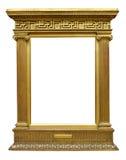 Old Gold Greek Frame Royalty Free Stock Images