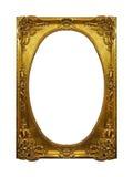 Gold shiny frame Stock Image