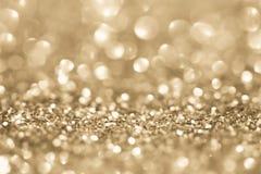Golden glitter background Royalty Free Stock Image