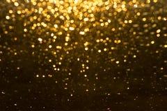 Golden rain Stock Photo