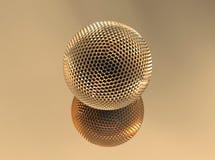 Golden sphere Stock Photography