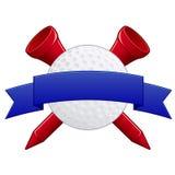Golf Badge EPS Royalty Free Stock Photo