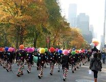 Thanksgiving Day Parade NYC Stock Photos