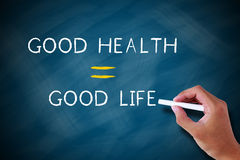 Good health good life Royalty Free Stock Photography