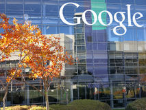 Google Corporate Headquarters Royalty Free Stock Images